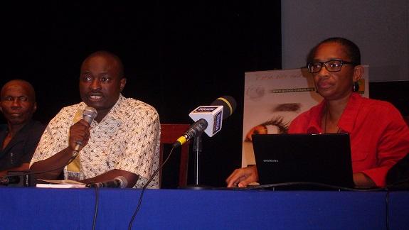 Sansy Kaba et Marie Yvonne Curtis