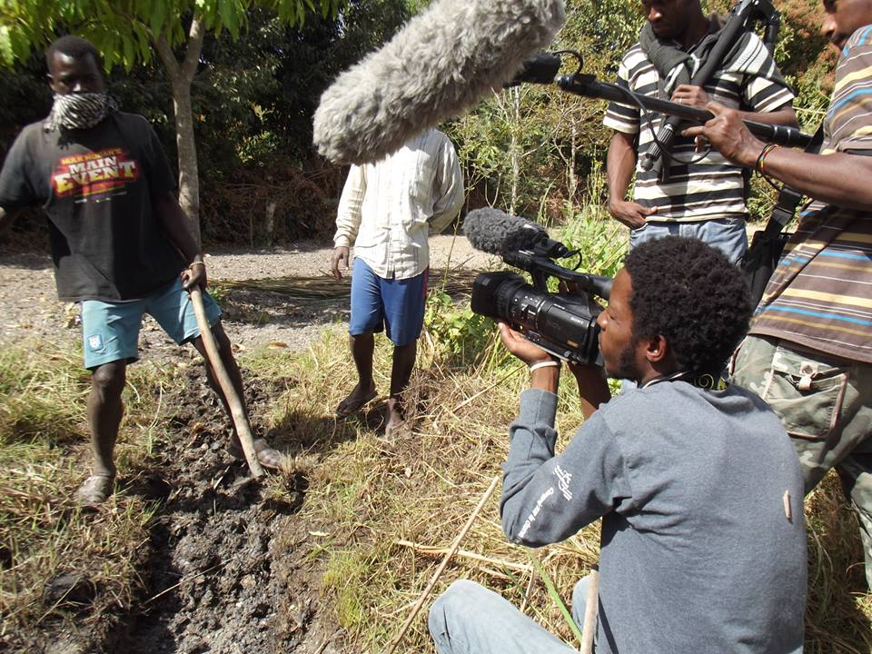 Thierno souleymane en tournage