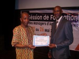 Ahmed Tidjani Cissé et Luc Mayitoukou