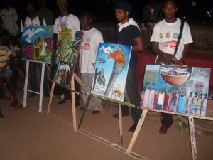 Caravane des arts pour la paix à Labé 3