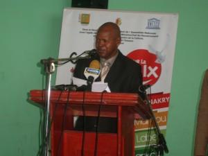Mamadou Dian Diallo point focal UNESCO Guinée