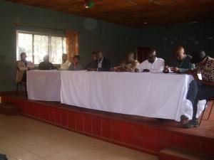 Reunion ministère de la culture et acteurs culturels