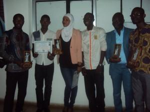 Les lauréats du Djéliba 2014