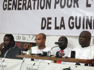 Génération pour l'unité et la relance de la Guinée