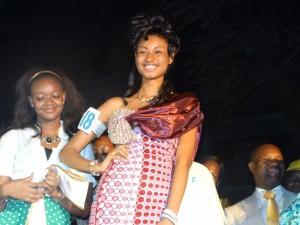 Diallo Mama Aissata Miss Guinée 2014