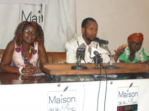 Présentation un peuple perdu de Fatou Keita