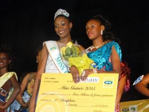 Safiatou Diallo 1ère dauphine Miss Guinée 2015