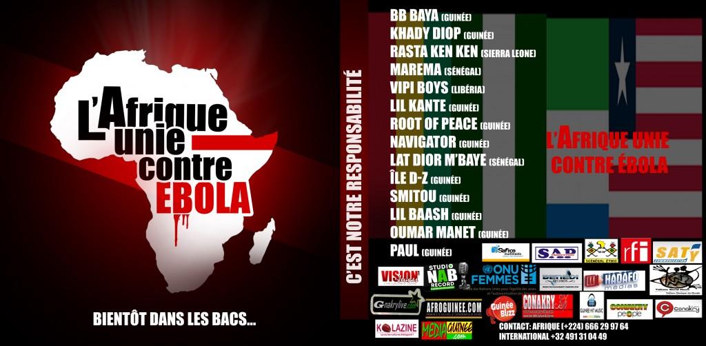 Pochette L'Afrique unie contre Ebola