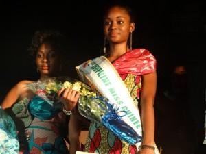 Yero Bah 2ème Dauphine Miss Guinée 2015