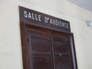 Salle d'audience-cour d'appel