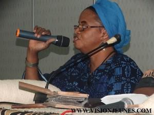 Marigo Bintou Sidibé, présidente Promo Art