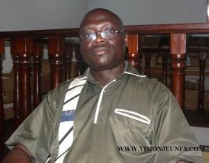 Etien N Amon, directeur Harmattan Côte d'Ivoire
