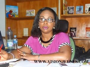 Isabelle Kassi Fofana, directrice Frat Mat Editions