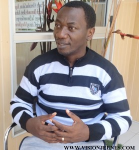 Josué Guebo, président association des écrivains de Côte d'Ivoire
