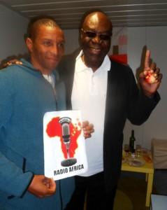 Mory Touré et Manu Dibango sur Radio Afrika