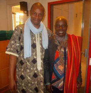 Mory Touré et Angelique Kidjo pour Radio Afrika