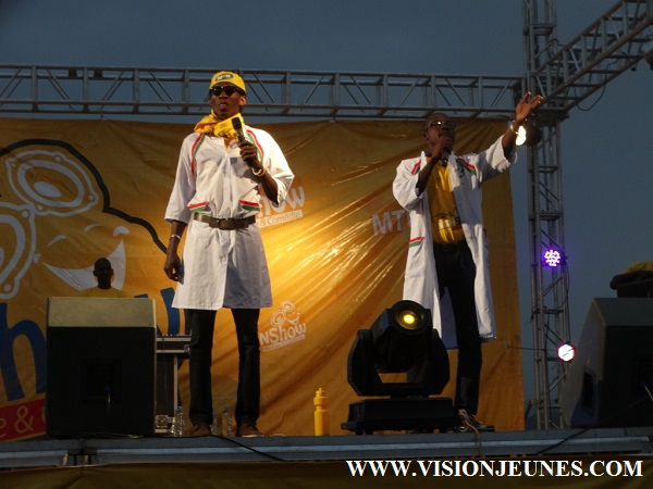 Kougoury et Morongny, MTN Show Labé