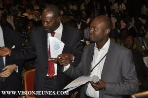 Mohamed Said Fofana reçoit une reconnaissance des 72 heures du livre