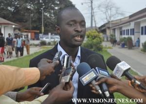 Sansy Kaba, commissaire général des 72 heures du livre