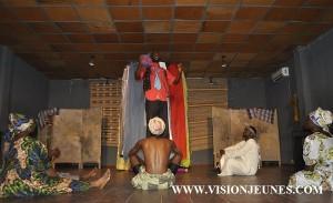 Theatre national sur scène