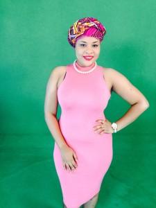 Maladho Diallo, présentatrice Buzz 2 Sport sur RTI 2
