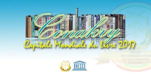 Urgent : Conakry désignée capitale mondiale du livre en 2017 Après plusieurs mois d'intenses efforts des professionnels de la chaine du livre et des autorités guinéennes, la ville de Conakry a été finalement choisie pour être la capitale mondiale du livre en 2017. C'est à travers un communiqué publié ce 17 juillet 2015 sur le site de l'Association International Publishers que l'UNESCO a mis fin à plusieurs mois de suspense et de longue attente des guinéens.