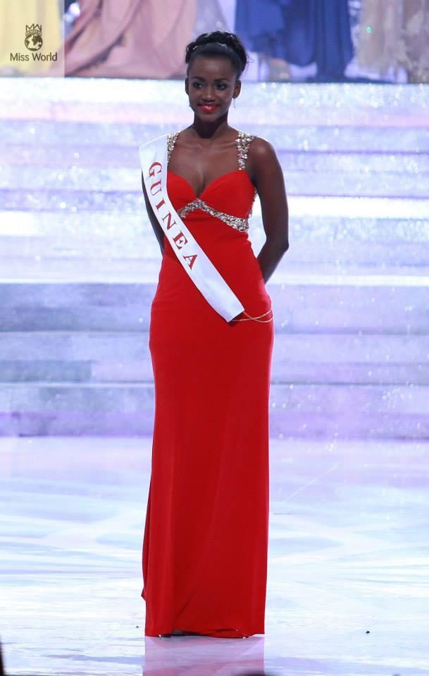 Miss monde 2013 : la guinéenne, Mariam Diallo classée 12ème sur 127 candidates – Vision Jeunes